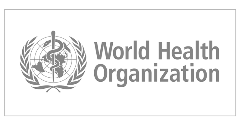 Logos for World Health Organization